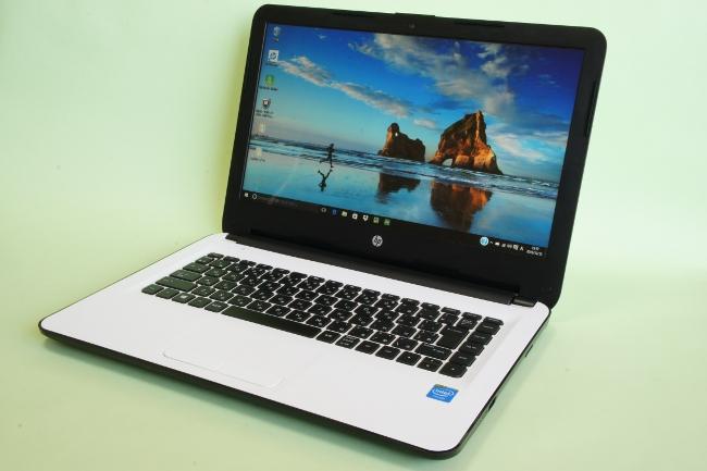 HP 14-ac100 ベーシックモデル デスクトップ画面