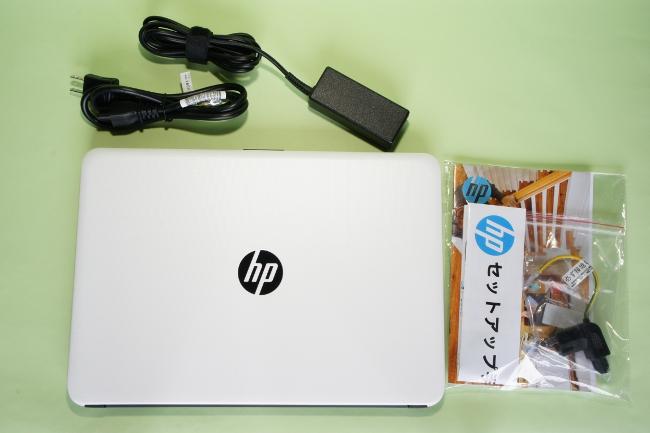 『HP 14-ac100』一式