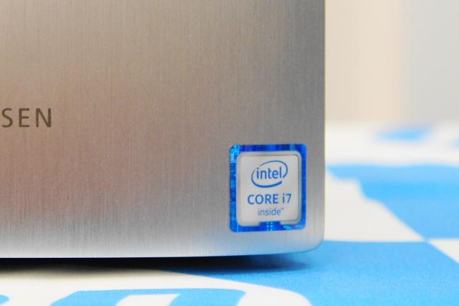 HP ENVY 750-180jp/CT インテルロゴ