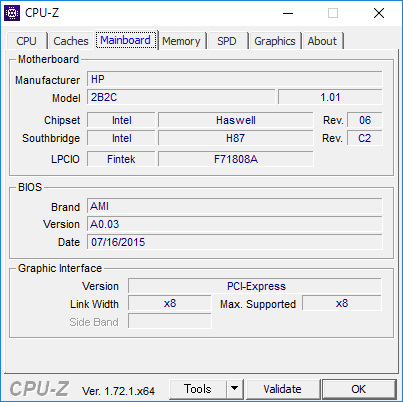 CPU-Z(MainBorad)