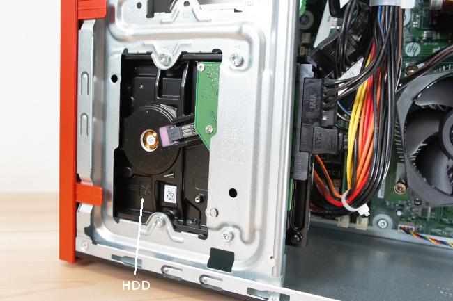 本体内部(HDD)