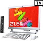 東芝『dynabook DZ71』Windows10&Core i7&3波対応ダブルチューナー搭載!テレビも見れる 21.5型オールインワンPC