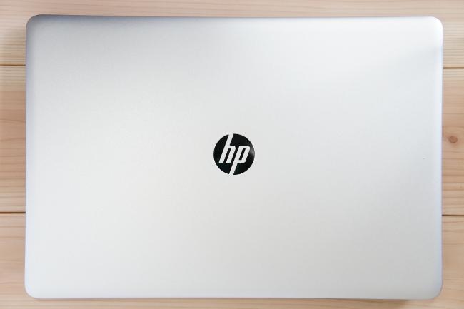 HP ENVY 17-n100 の天板