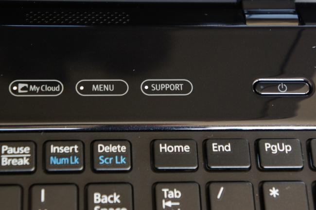 ソフトウェアメニュー起動ボタン
