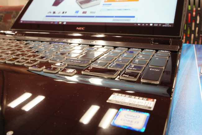LAVIE Direct NS(H) キーボード