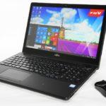 富士通『LIFEBOOK WA3/W』Windows10&第6世代Core i7搭載!パフォーマンス重視の15.6型 高性能スタンダードノートPC