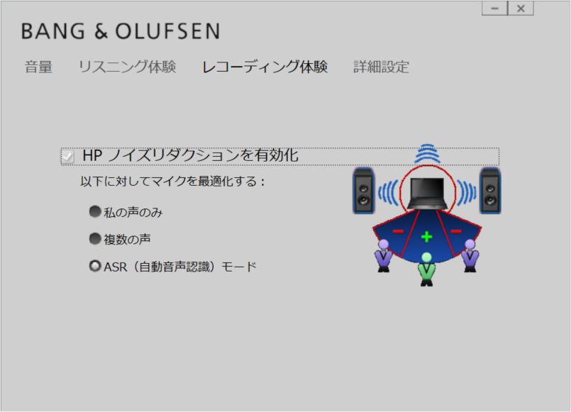 BANG & OLUFSEN サウンド(録音体験)
