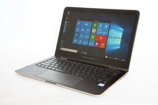 HP Spectre 13x360 ノートPCモード