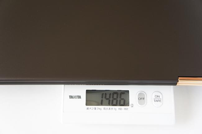 HP Spectre 13 x360 の重さ