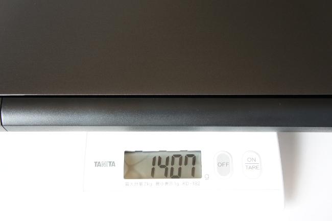 LB-J520S-SSD の重さ