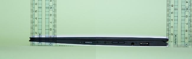 Lenovo YOGA 700 の高さ