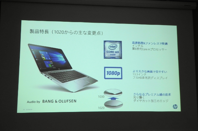 HP EliteBook 1030 G1 搭載 CPU(イメージ)