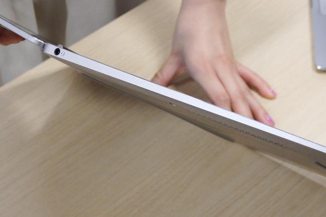 HP EliteBook Folio G1 インターフェース(左側)