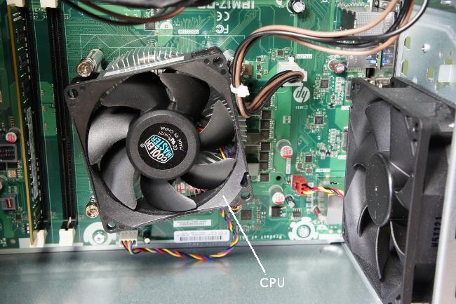 本体内部(CPU)
