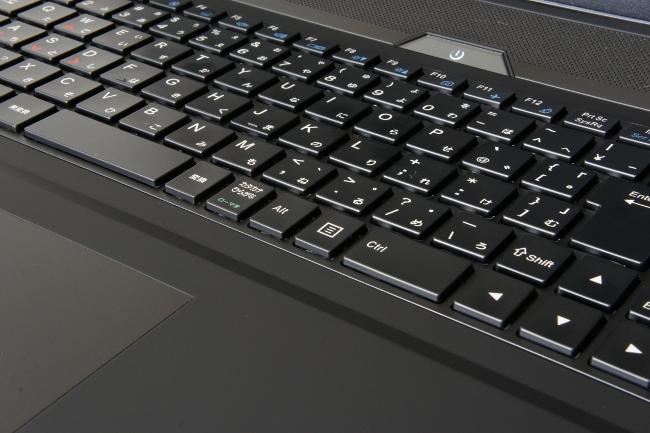 ゆとりの配置のキーボード