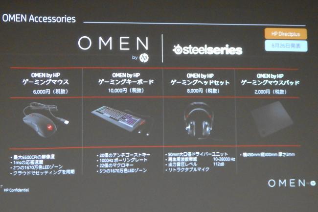 OMEN X by HP Desktop 900 アクセサリー