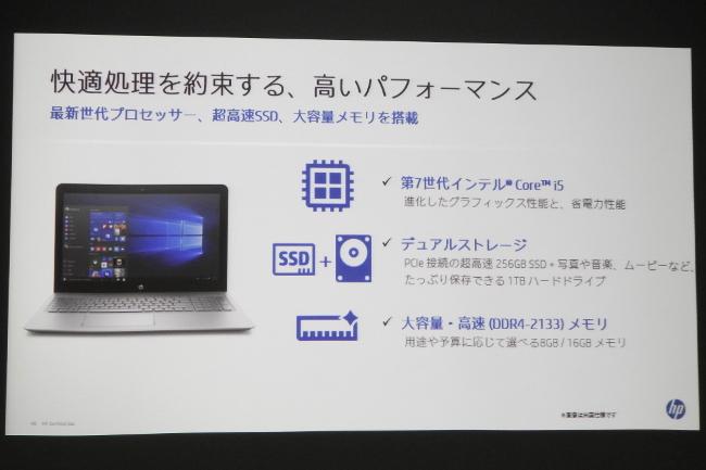 HP ENVY 15-as100 パフォーマンス(スライド)