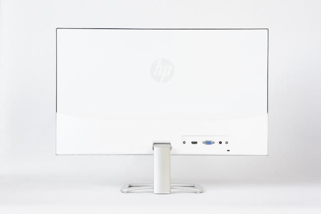HP 24er モニター 背面側