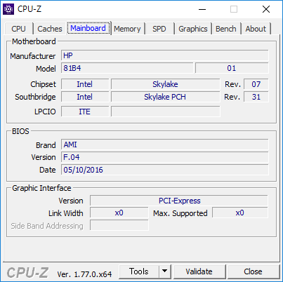 CPU-Z(MainBorad)