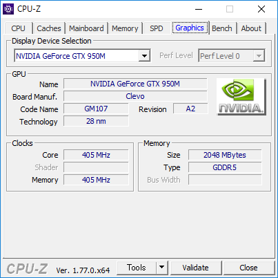 CPU-Z(Graphics2)