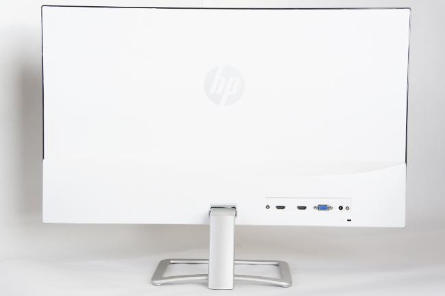HP 27er モニター 背面側