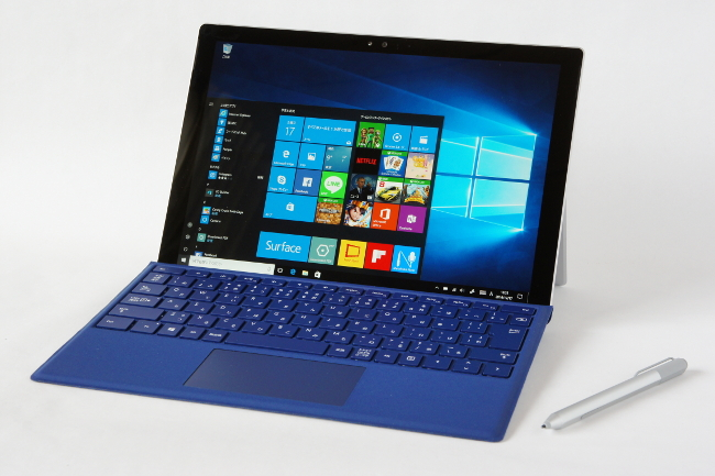 Surface Pro 4 正面(その1)
