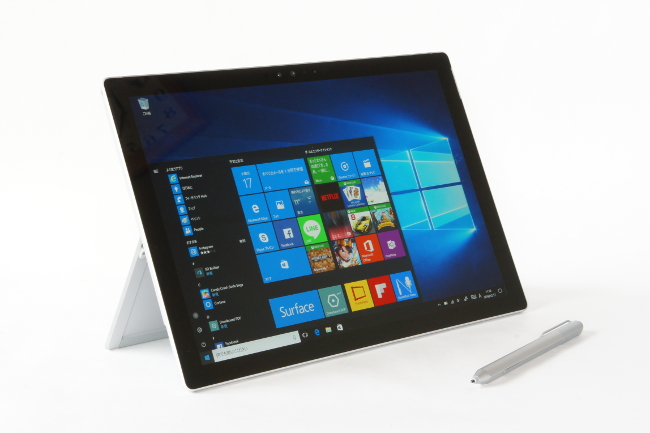 Surface Pro 4 タブレットスタイル