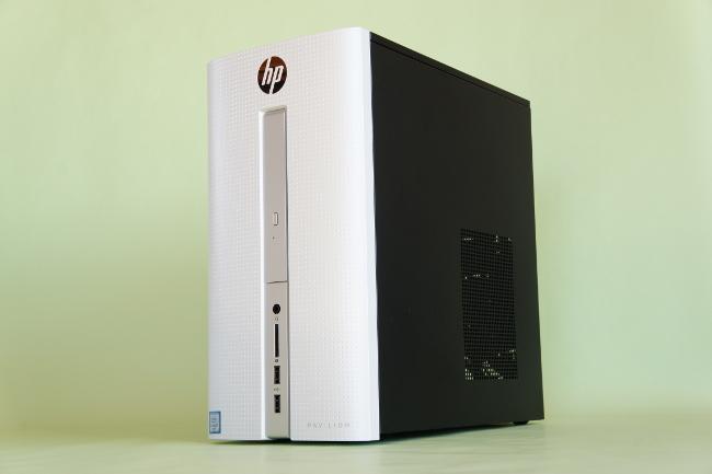 HP Pavilion 510-p100jp 正面側