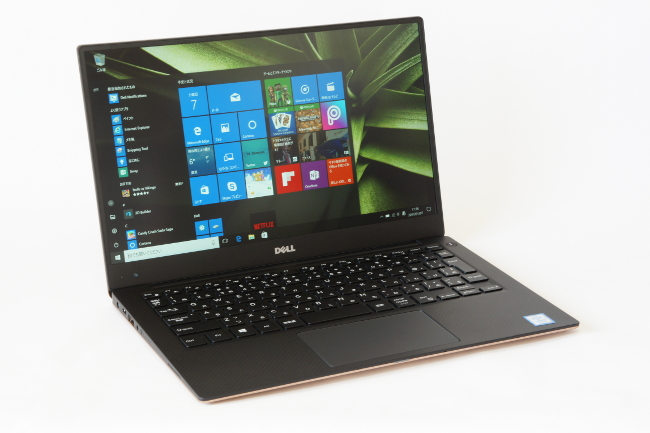 New XPS 13 正面(その2)