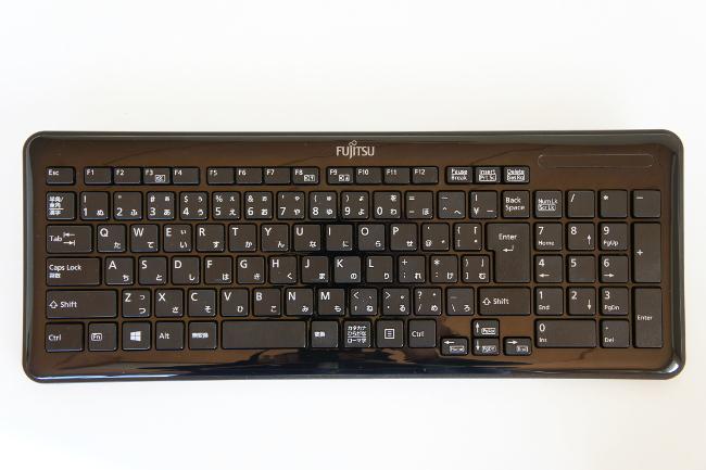ワイヤレスキーボード全体(その1)