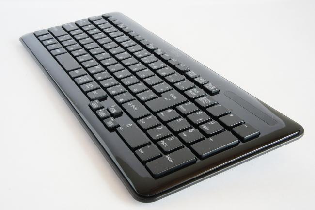 ワイヤレスキーボード全体(その2)
