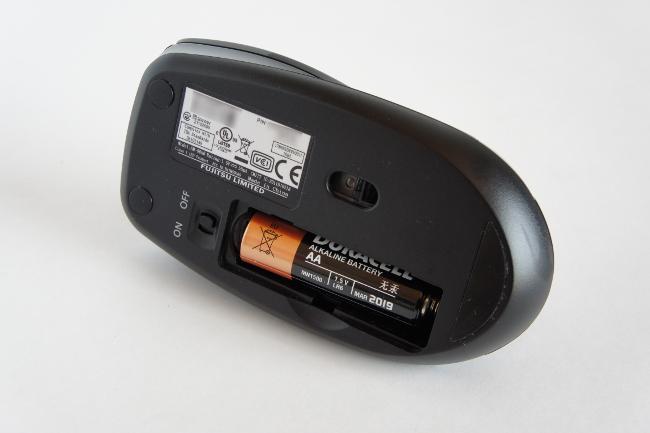 ワイヤレスマウスの電池