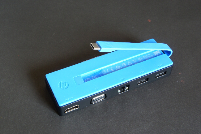 HP USB-C トラベル ドック 接続コネクター
