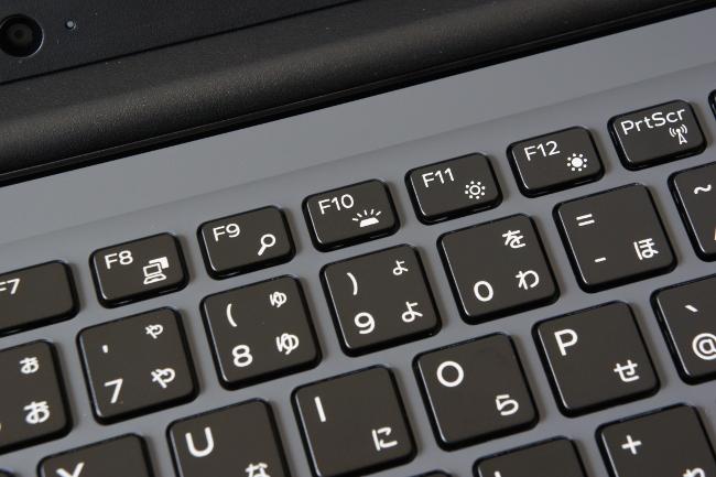 [F10]キーでバックライトのオン/オフ切り替え