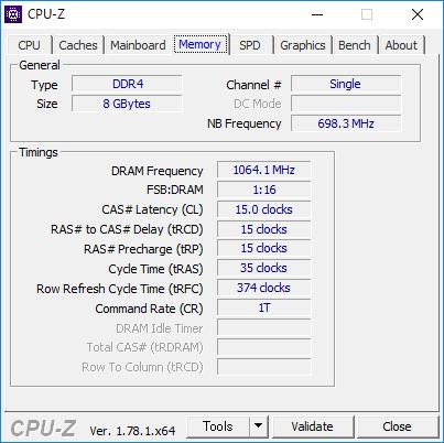 CPU-Z(Memory)