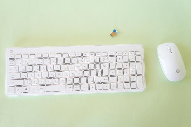 キーボード&マウス&レシーバー