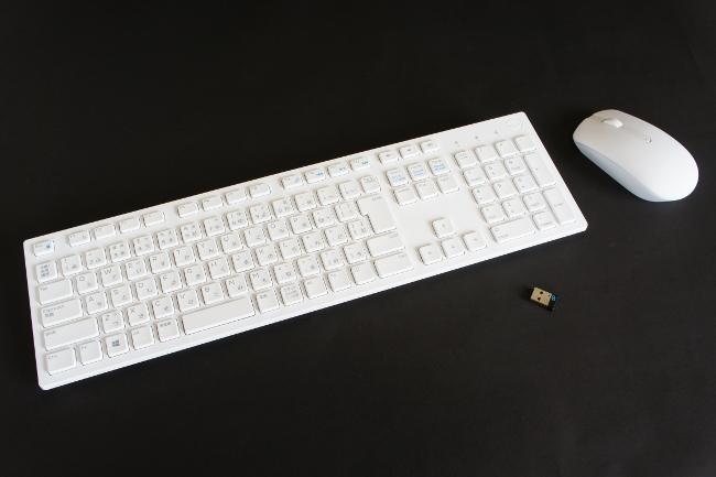 ワイヤレスキーボード&マウス