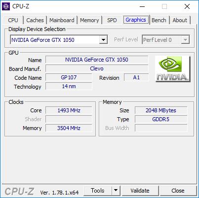 CPU-Z(Graphics GPU)