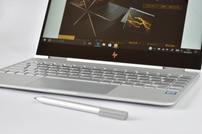 HP Spectre x360 本体とアクティブペン