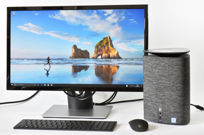 HP Pavilion Wave 600-a100jp と モニター