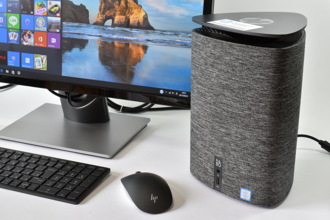 HP Pavilion Wave 600-a100jp と モニター