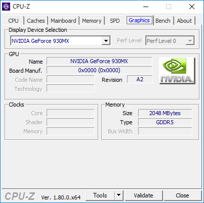 CPU-Z(Graphics GPU)