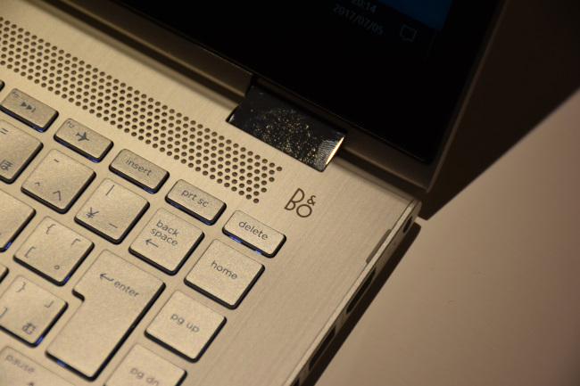 HP Pavilion X360 デュアルスピーカー