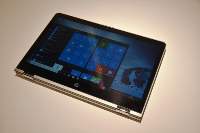 HP Pavilion X360 タブレットスタイル
