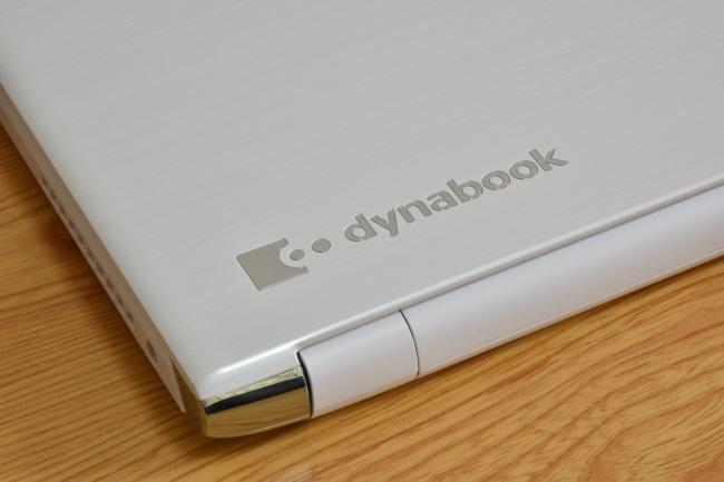 dynabook AZ25/D 天板ロゴ(その1)