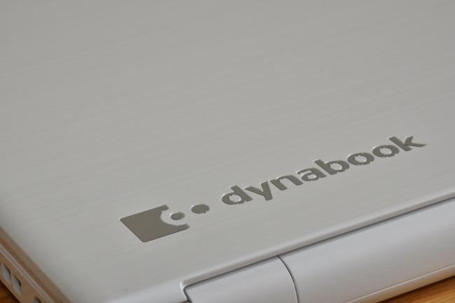 dynabook AZ25/D 天板ロゴ(その2)