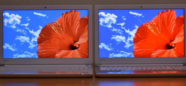 AZ65/DとAZ25/Dの映像比較(その1)
