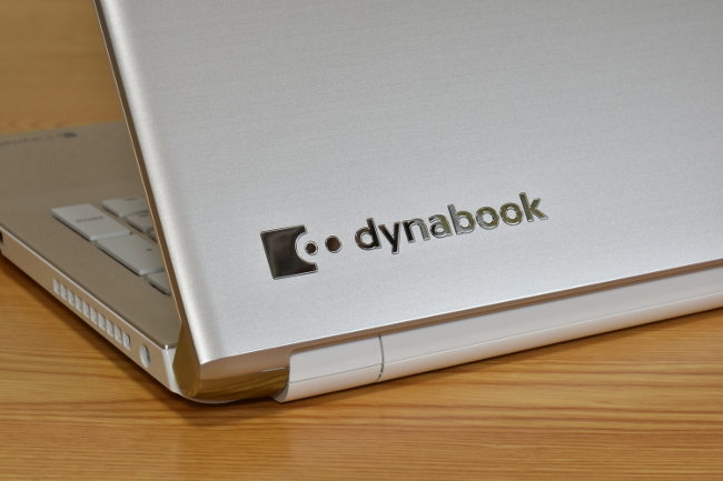 dynabook AZ65/D 天板ロゴ(その2)