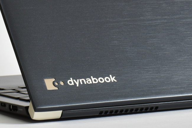 dynabook UZ63/D 天板ロゴ(その1)