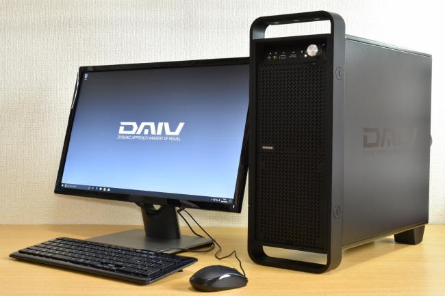 DAIV-DGZ510S1-SH2 正面側(モニタ付き)